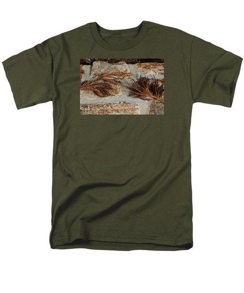 Bronze Symmetry Men's T-Shirt  (Regular Fit) by Deborah  Crew-Johnson