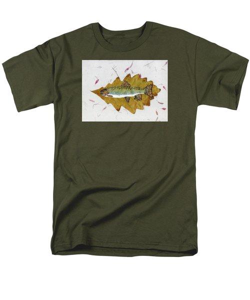 Brook Trout Men's T-Shirt  (Regular Fit) by Ralph Root