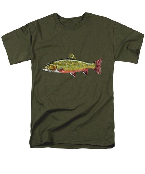 Brook Trout Men's T-Shirt  (Regular Fit) by Serge Averbukh