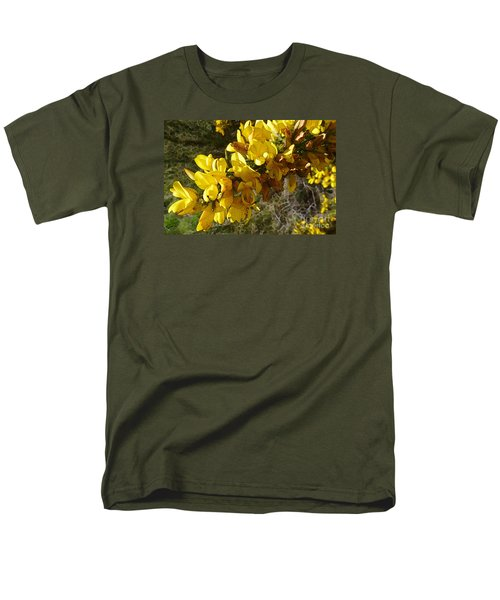 Broom In Bloom Men's T-Shirt  (Regular Fit) by Jean Bernard Roussilhe