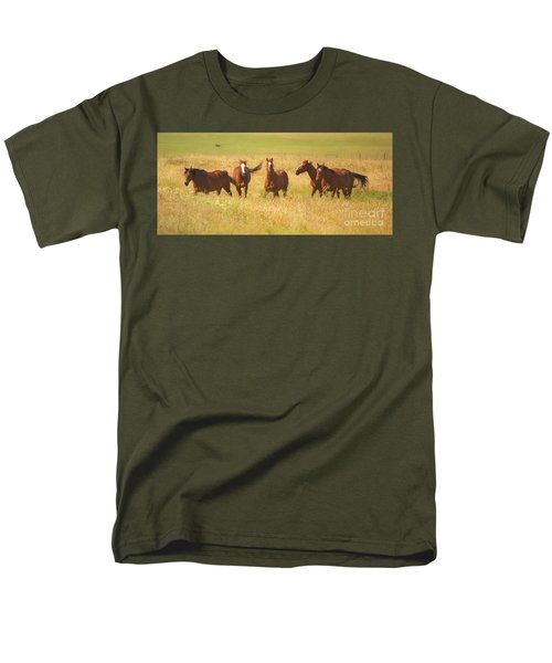 Men's T-Shirt  (Regular Fit) featuring the photograph Brothers by Rima Biswas