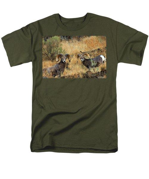 Brothers Men's T-Shirt  (Regular Fit) by Steve Warnstaff