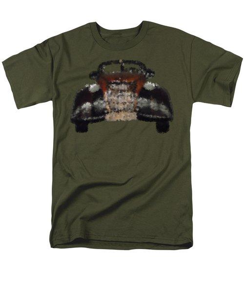 Brown Car Men's T-Shirt  (Regular Fit) by David and Lynn Keller