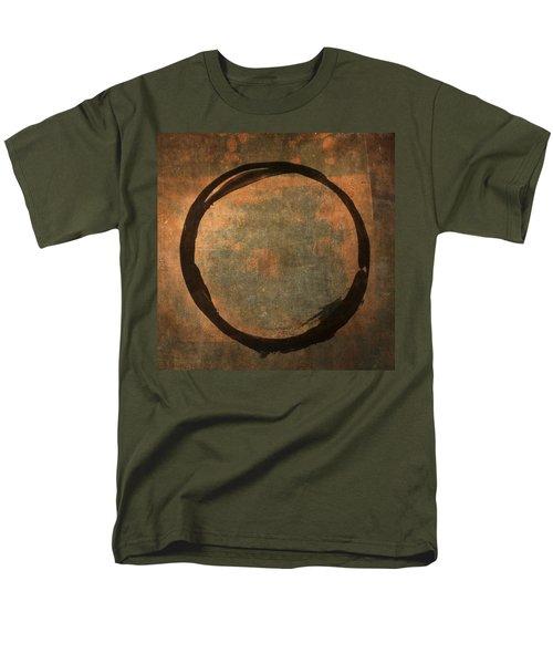 Brown Enso Men's T-Shirt  (Regular Fit) by Julie Niemela