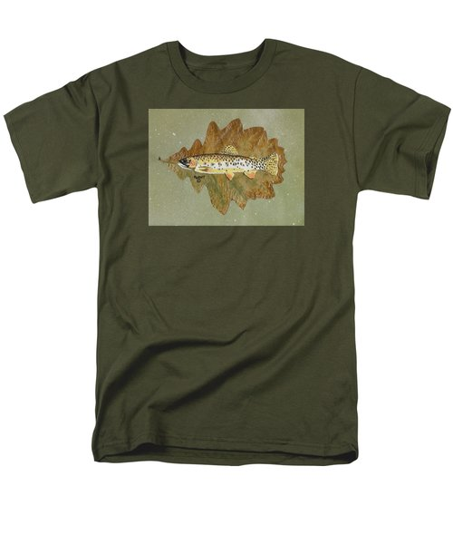 Brown Trout Men's T-Shirt  (Regular Fit) by Ralph Root