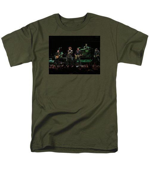 Bruce Springsteen And The E Street Band Men's T-Shirt  (Regular Fit) by Melinda Saminski