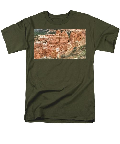 Bryce Canyon Men's T-Shirt  (Regular Fit) by Geraldine Alexander