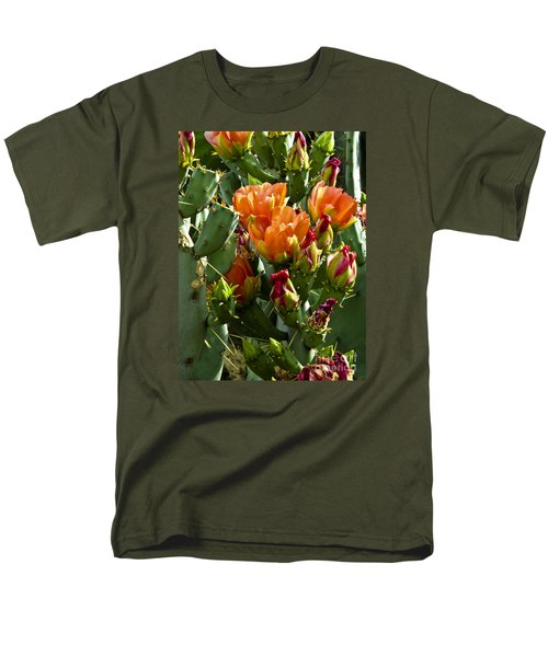 Buds N Blossoms Men's T-Shirt  (Regular Fit) by Kathy McClure