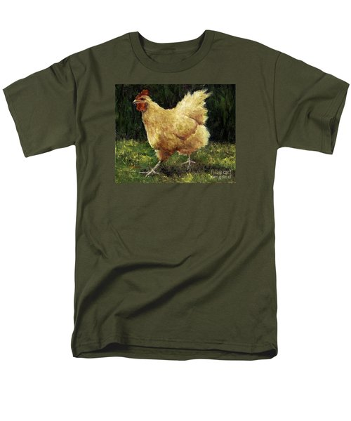 Buff Orpington Chicken Men's T-Shirt  (Regular Fit)