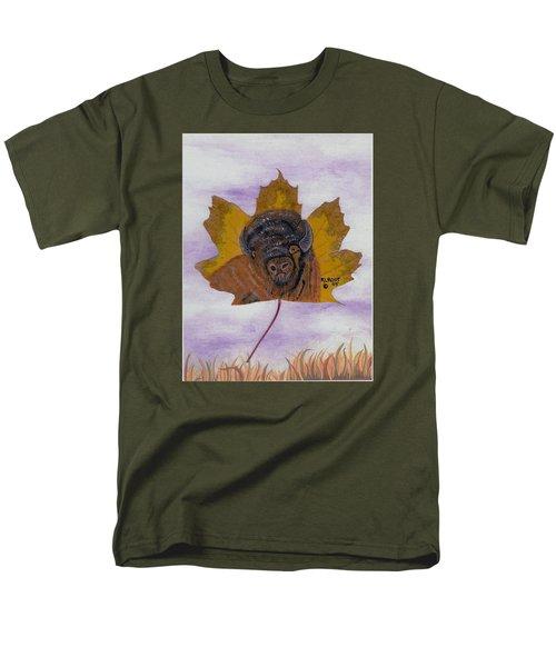 Buffalo Profile Men's T-Shirt  (Regular Fit) by Ralph Root