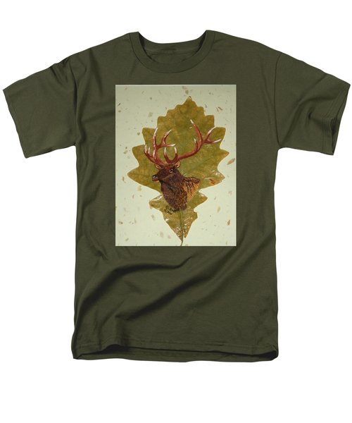 Bull Elk Men's T-Shirt  (Regular Fit) by Ralph Root