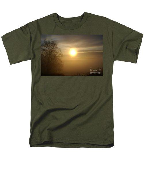 Burning Off The Fog Men's T-Shirt  (Regular Fit) by Annlynn Ward