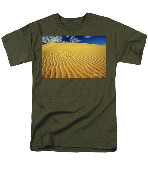 Burning Up At The White Sand Dunes - Mui Ne, Vietnam, Southeast Asia Men's T-Shirt  (Regular Fit) by Sam Antonio Photography