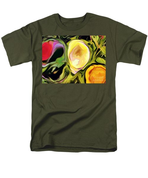 Men's T-Shirt  (Regular Fit) featuring the photograph Three Sisters by Kathie Chicoine