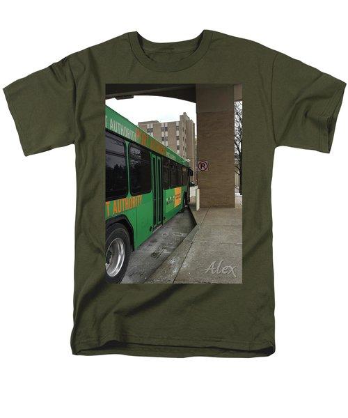 Bus Stop Men's T-Shirt  (Regular Fit)
