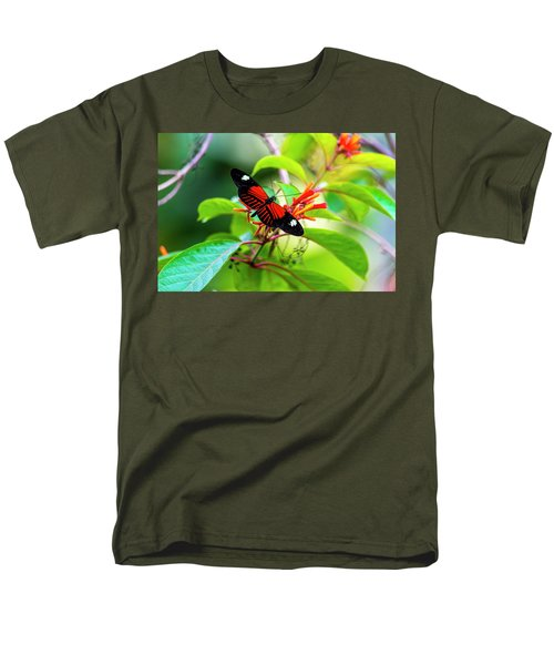 Men's T-Shirt  (Regular Fit) featuring the photograph Butterfly  by David Morefield