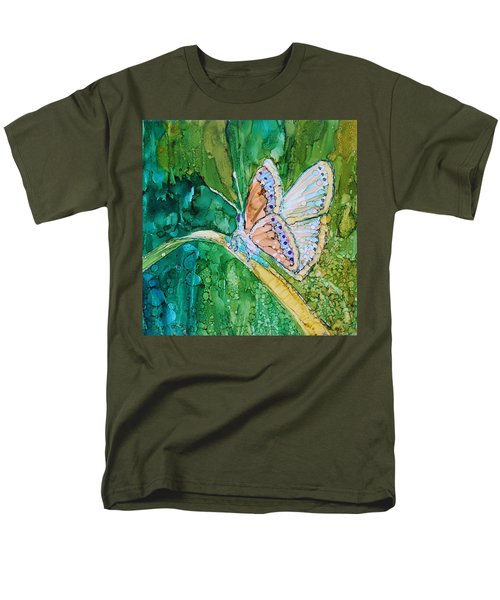 Butterfly Men's T-Shirt  (Regular Fit) by Ruth Kamenev