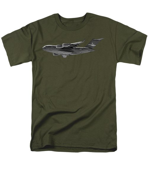 C-17 Globemaster IIi Bws Men's T-Shirt  (Regular Fit) by Mark Myhaver