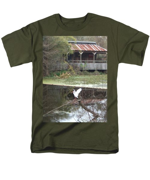 Cabin On The Bayou Men's T-Shirt  (Regular Fit)