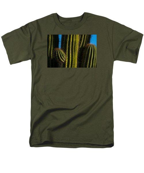 Cacti  Men's T-Shirt  (Regular Fit) by Derek Dean