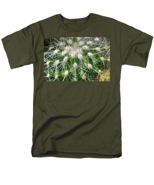 Men's T-Shirt  (Regular Fit) featuring the photograph Cactus 1 by Jim and Emily Bush