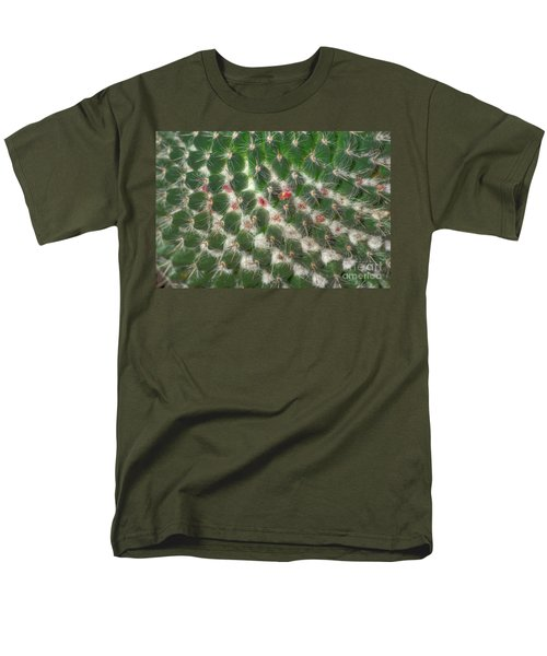 Men's T-Shirt  (Regular Fit) featuring the photograph Cactus 5 by Jim and Emily Bush