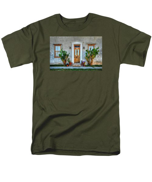 Men's T-Shirt  (Regular Fit) featuring the photograph Cactus Guards by Ken Smith
