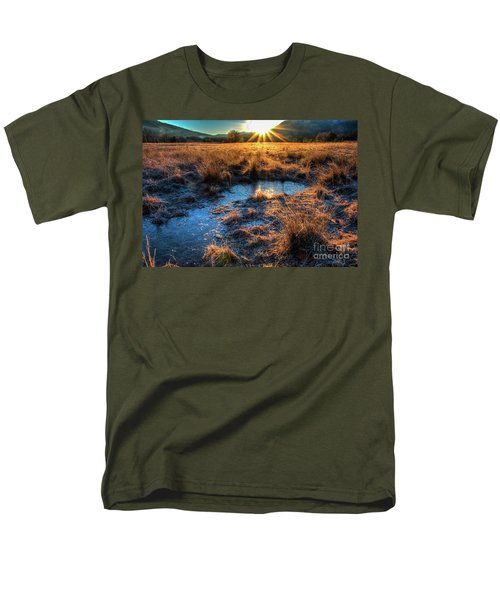 Cades Cove, Spring 2017,ii Men's T-Shirt  (Regular Fit) by Douglas Stucky