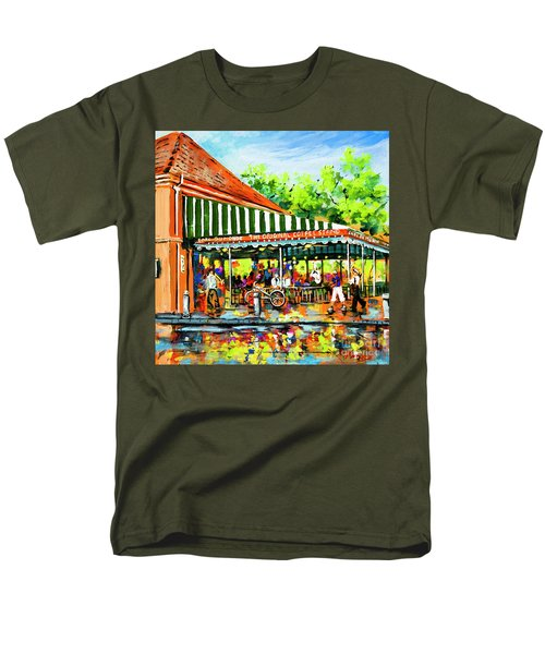 Cafe Du Monde Lights Men's T-Shirt  (Regular Fit)