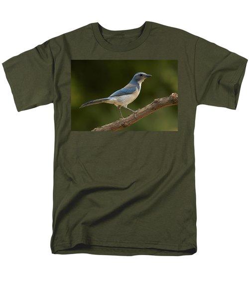California Scrub Jay Men's T-Shirt  (Regular Fit) by Doug Herr