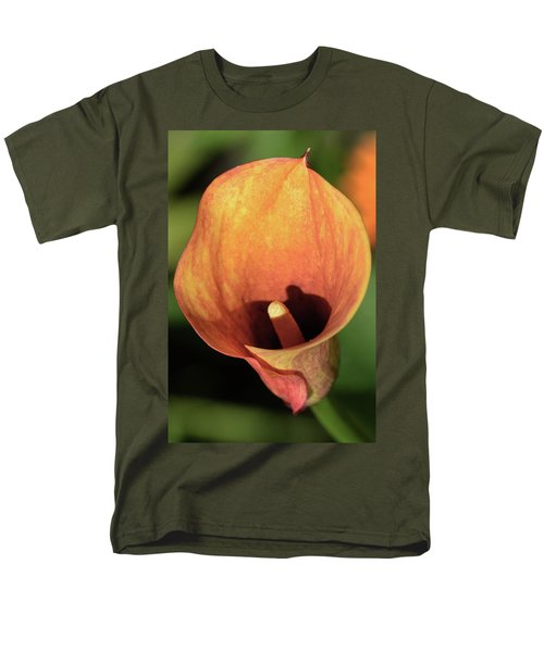 Men's T-Shirt  (Regular Fit) featuring the photograph Calla Sunbathing. by Terence Davis