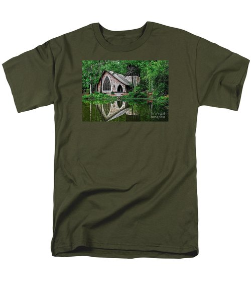 Callaway Gardens Ida Cason Chapel Men's T-Shirt  (Regular Fit) by John Roberts
