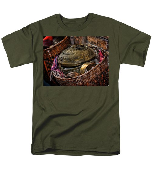 Men's T-Shirt  (Regular Fit) featuring the photograph Camelback 8850 by Sylvia Thornton