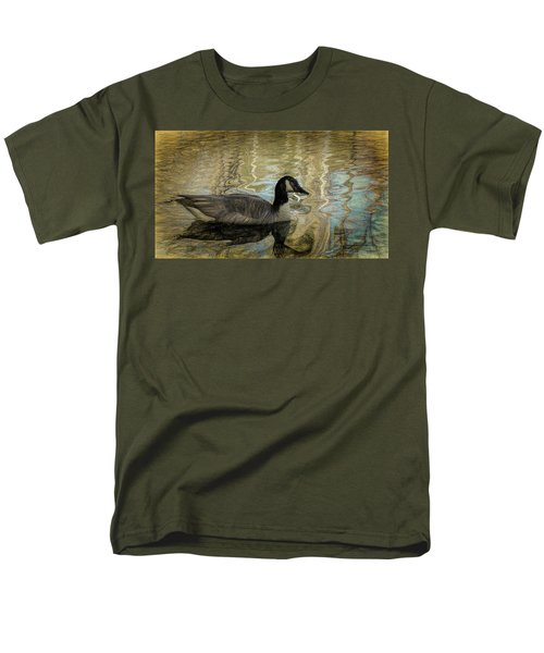 Canadian Goose Men's T-Shirt  (Regular Fit) by Steven Richardson