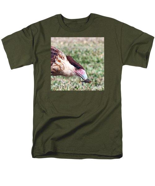 Caracara With Turtle Men's T-Shirt  (Regular Fit)