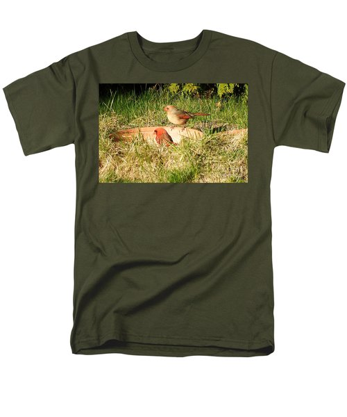 Cardinals Men's T-Shirt  (Regular Fit) by Vicky Tarcau