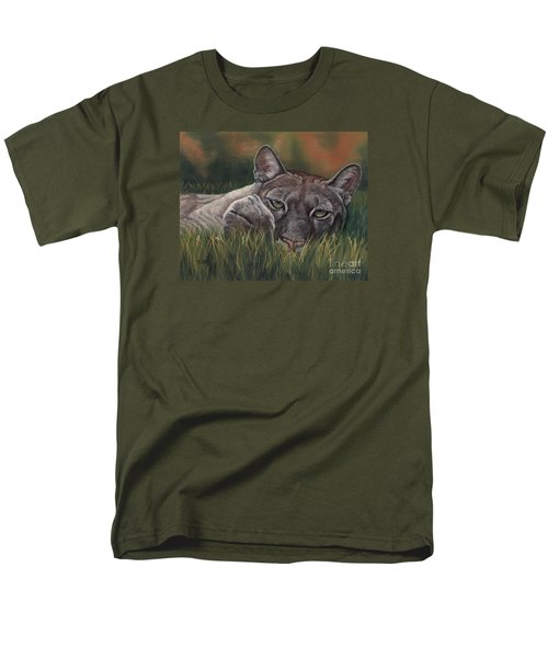 Men's T-Shirt  (Regular Fit) featuring the pastel Carez...i Has None by Sheri Gordon