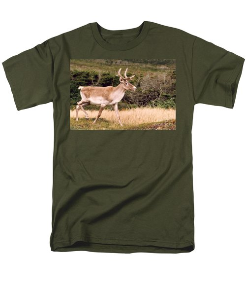 Caribou Men's T-Shirt  (Regular Fit) by Mary Mikawoz