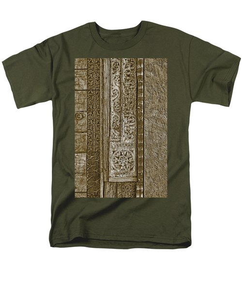 Men's T-Shirt  (Regular Fit) featuring the photograph Carving - 6 by Nikolyn McDonald