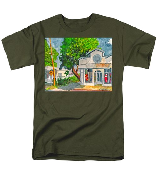 Caseys Place Men's T-Shirt  (Regular Fit) by Eric Samuelson