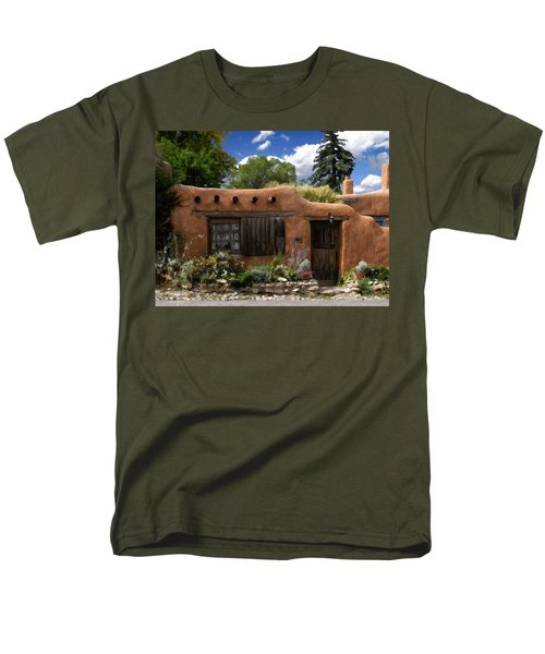 Casita De Santa Fe Men's T-Shirt  (Regular Fit) by Kurt Van Wagner