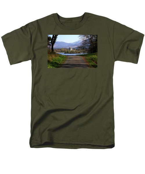 Castle On The Lakes Men's T-Shirt  (Regular Fit) by Aidan Moran