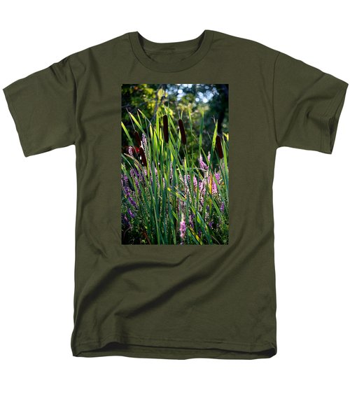 Cat Tails In The Morning Men's T-Shirt  (Regular Fit)