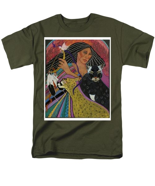 Cat Woman From Palenque Men's T-Shirt  (Regular Fit)