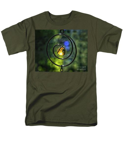 Men's T-Shirt  (Regular Fit) featuring the photograph Catch Fire  by Mitch Shindelbower