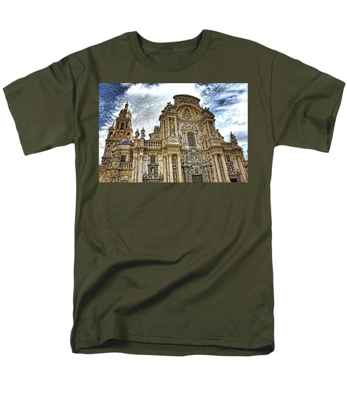 Catedral De Murcia Men's T-Shirt  (Regular Fit) by Angel Jesus De la Fuente