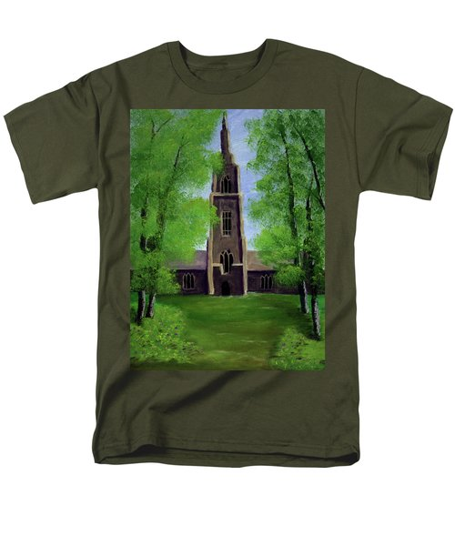 Cathedral Men's T-Shirt  (Regular Fit)