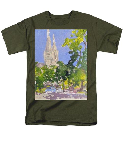 Cathedral Men's T-Shirt  (Regular Fit) by Rodger Ellingson