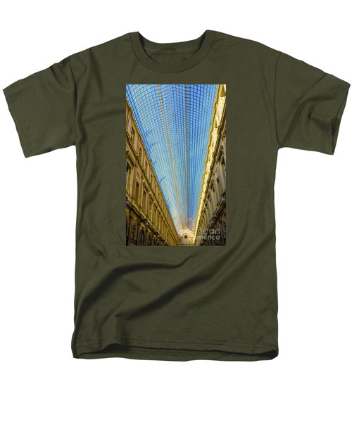 Men's T-Shirt  (Regular Fit) featuring the photograph Ceiling  by Pravine Chester