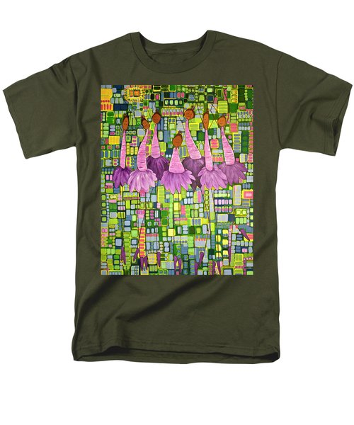 Men's T-Shirt  (Regular Fit) featuring the painting Celebrate by Donna Howard